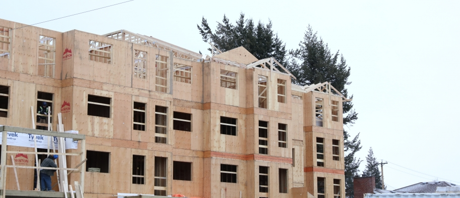 Apartments being built in Quesnel