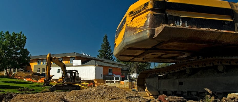 Construction in Quesnel