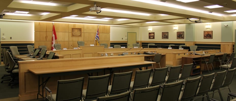 Quesnel Council Chambers