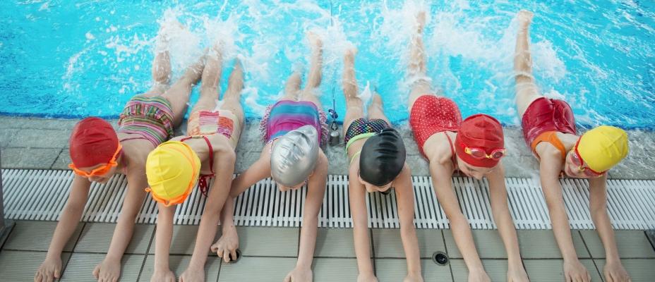 Discount Swim Header
