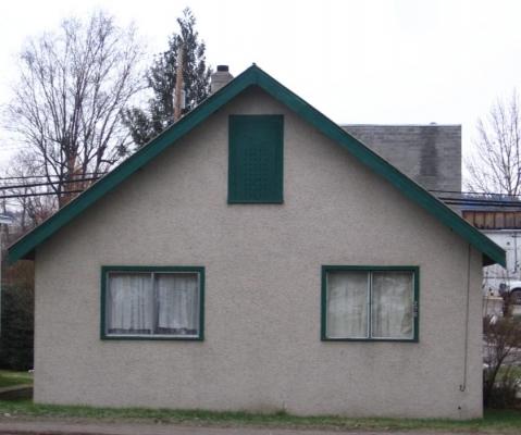 Lommer House - Front Elevation