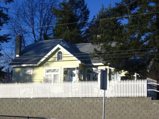 Dr. G. R. Baker House - Front Elevation