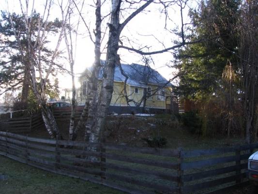Dr. G. R. Baker House - Rear Elevation