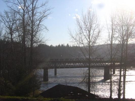 Bridge Span across Fraser River