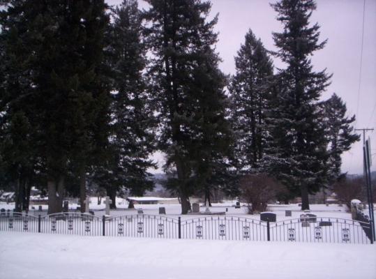 Pioneer Cemetery - West Elevation