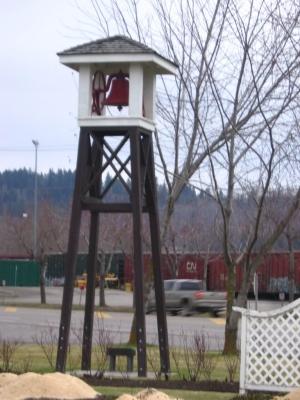 Fire Bell Tower - Northwest Elevation