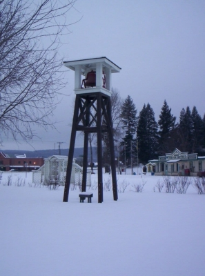 Fire Bell Tower - Southeast Elevation